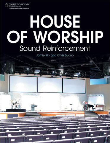 House of Worship: Sound Reinforcement (Book)