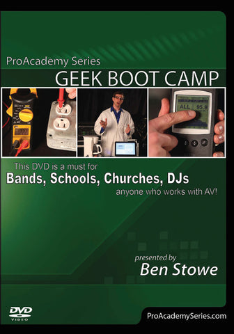 Pro Academy Series: Geek Boot Camp (DVD)