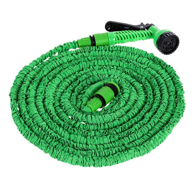 25-100FT Garden Hose Expandable Flexible Water Hose Pipe Watering Spray Gun Kits