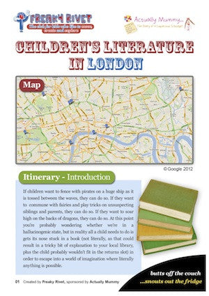 Children's Literature London Family Day Out