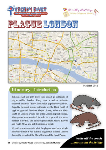 Plague of London Family Day Out