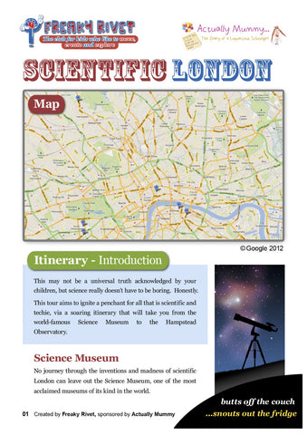 Scientific London Family Day Out