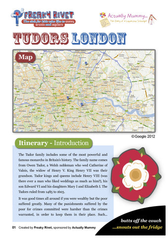 Tudors London Family Day Out