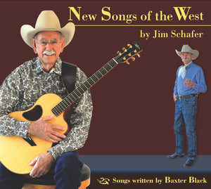 Jim Schafer's New Songs of the West CD