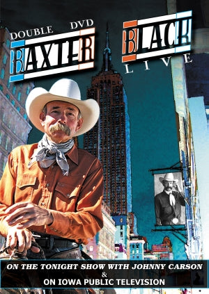 BAXTER BLACK'S DOUBLE DVD LIVE