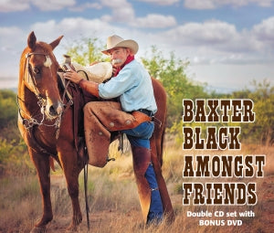 BAXTER BLACK AMONGST FRIENDS CD