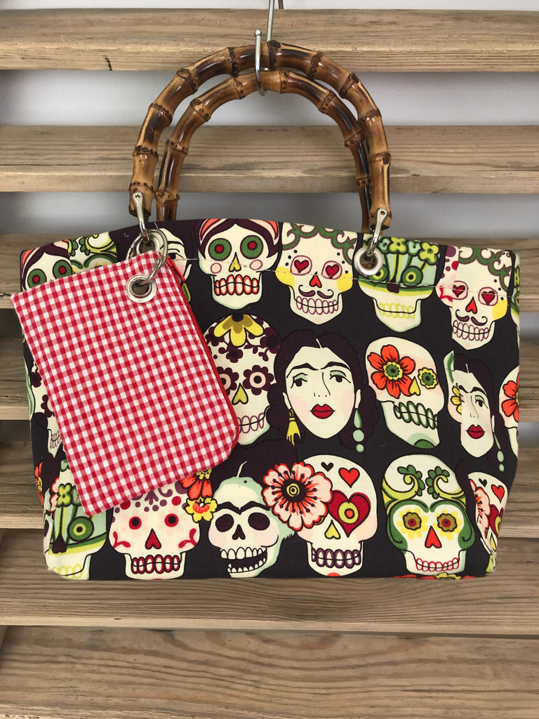 Frieda And Skulls Small Cabas