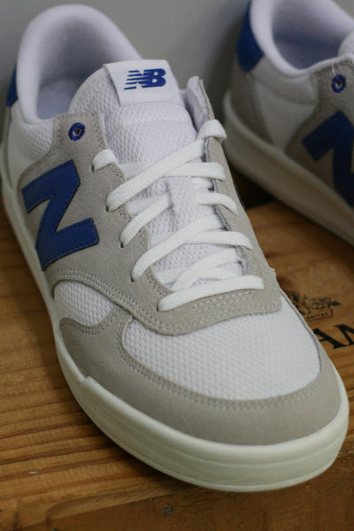 Court 300 - Light Grey/White/Blue