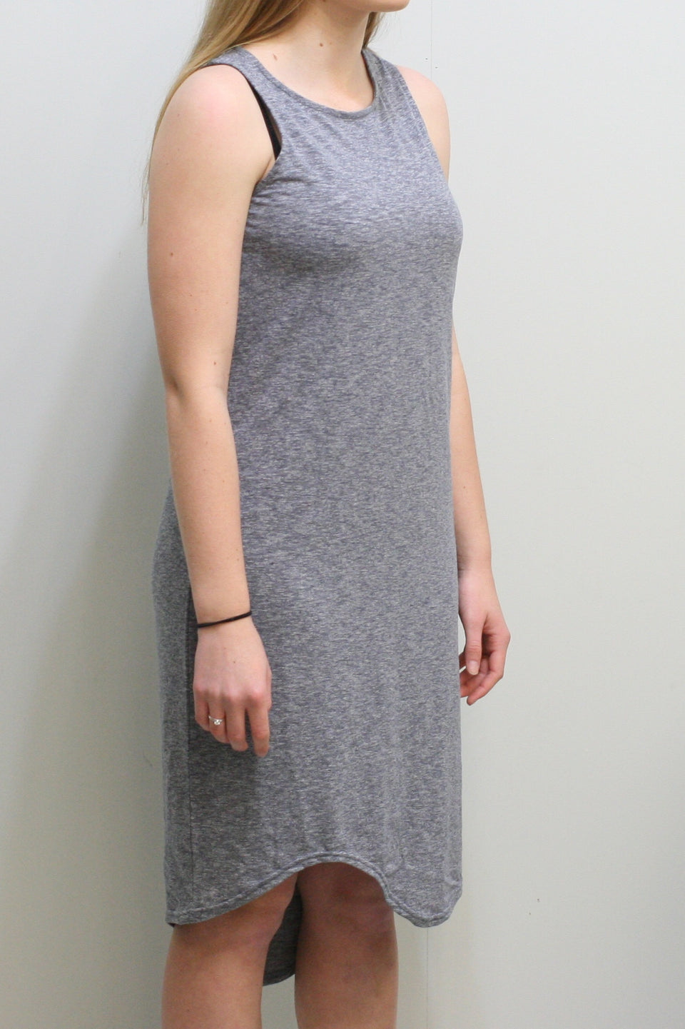 Annapurna Midi Dress (Blue Marle)