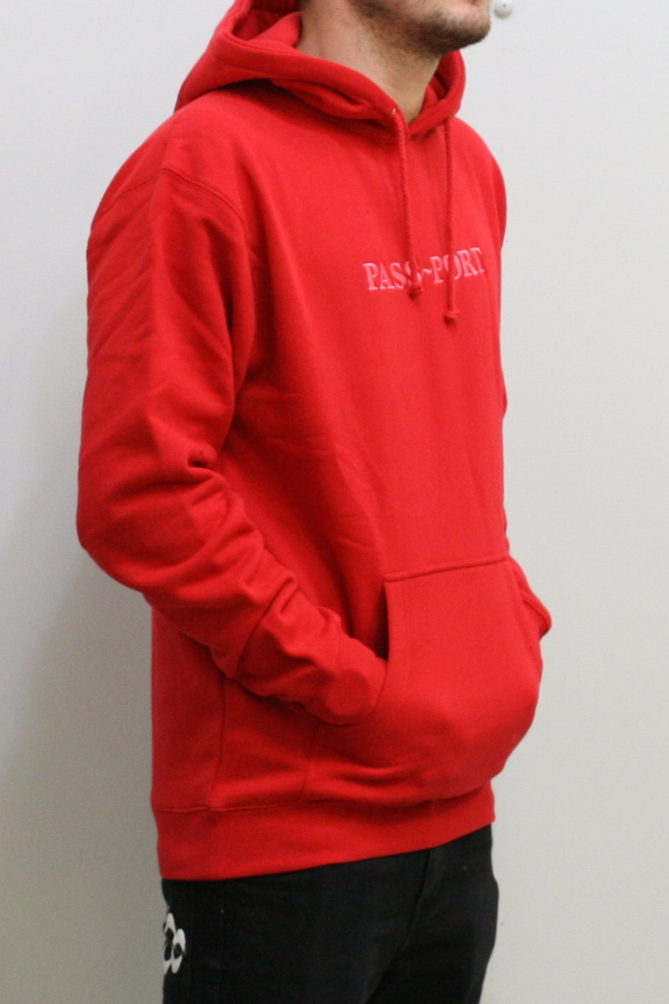 Official Embroid Hoody - Red