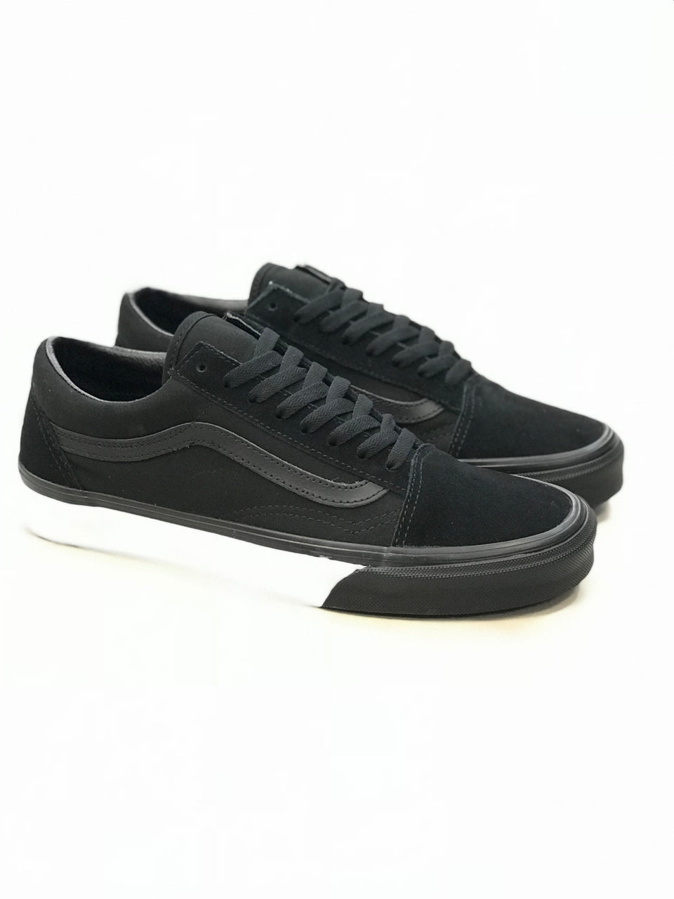 Vans Old Skool (Mono Bumper) Black/True White