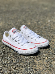 YOUTH Chuck Taylor Optical White Low