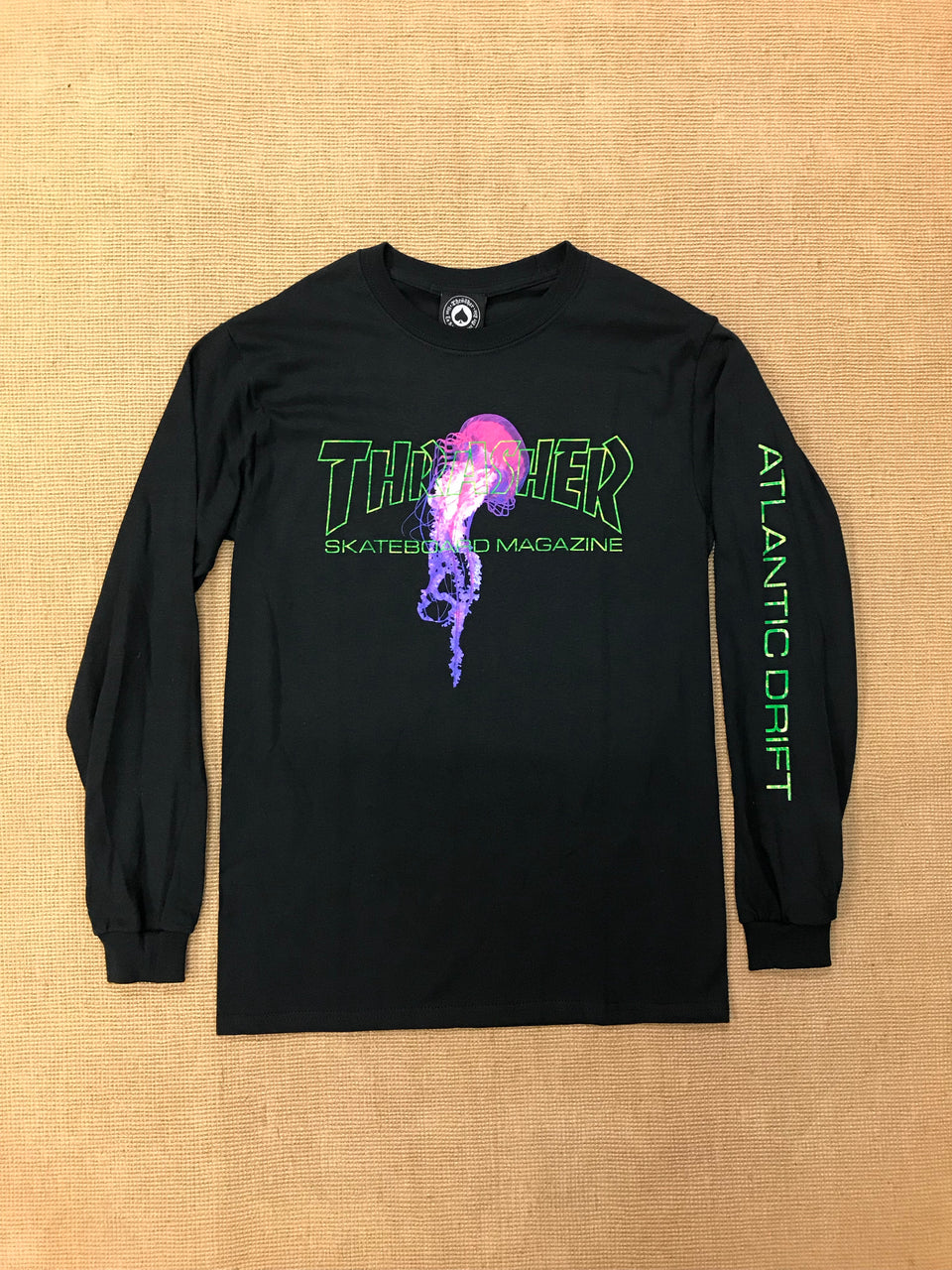 Thrasher Atlantic Drift Longsleeve (Black)
