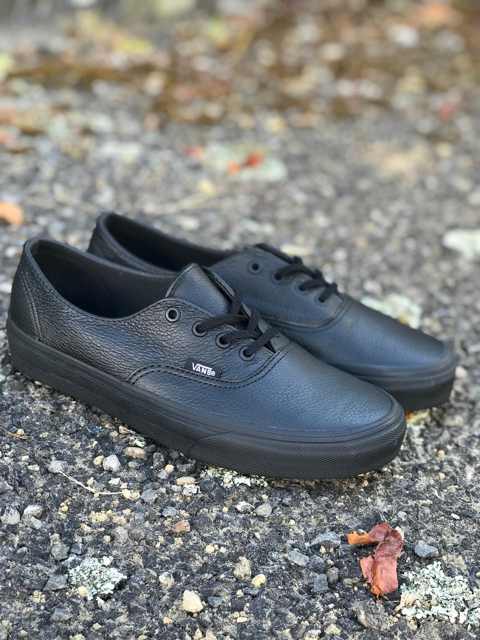 Vans Authentic Decon (Classic Tumble) - Black/Black