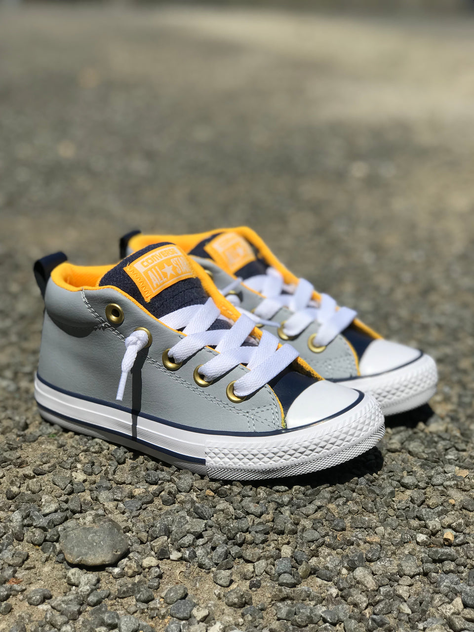 YOUTH CTAS Street Mid (Wolf Grey/Midnight Navy/White)
