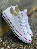 Chuck Taylor Lo (Leather) - White