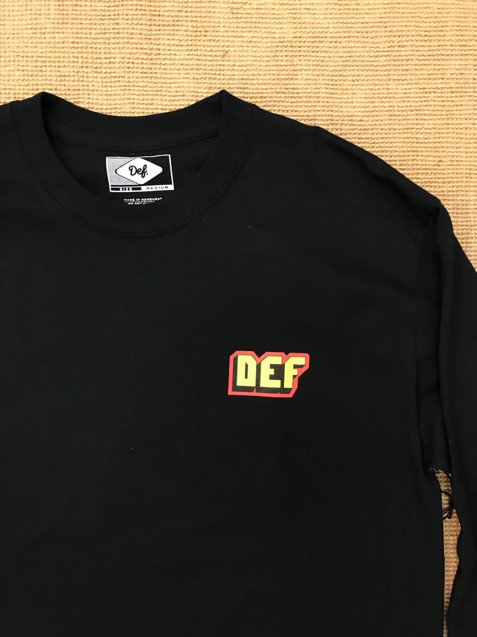 Def Mens Mother Longsleeve (Black)
