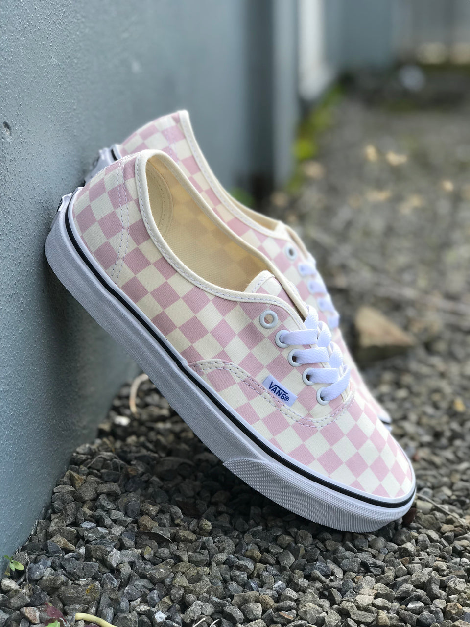 Vans Authentic (Checkerboard) Chalk Pink