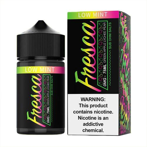 Fresca eLiquid - Green Apple Lychee Sub Ohm Salts