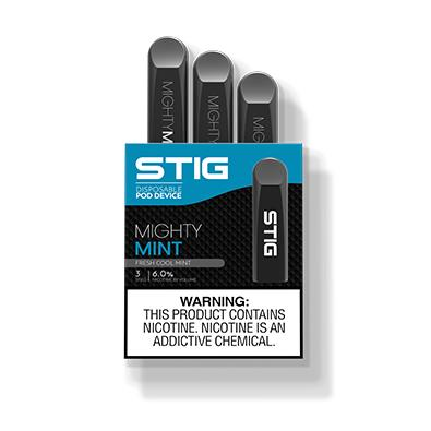 STIG Disposable Pod Device (Pack of 3)