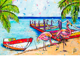 [Product_title] by Renate Rolefes | Curaçao Paintings