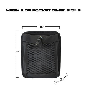 Mesh Side Pocket