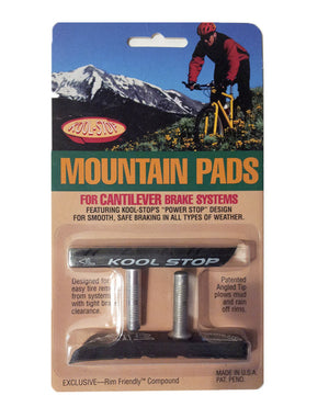 Kool Stop Mountain Pads Threaded Brake Pads