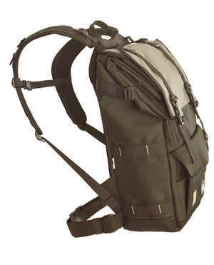 Waterproof backpack Navigator 30 side compressed
