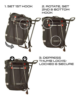 Trekker 20 Waterproof Rear Pannier