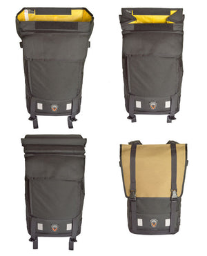 Waterproof Backpack Urbanito 25 closure