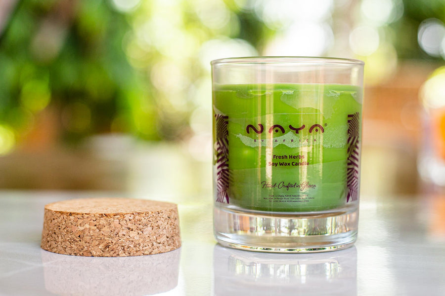 Fresh Herb Soy Wax Candle