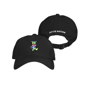Pittie Nation Hat Black