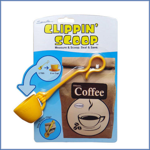 Clippin' Scoop™ - Coffee Scoop