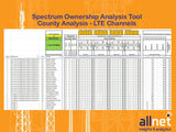 Mobile Carrier Spectrum Ownership Analysis Tool