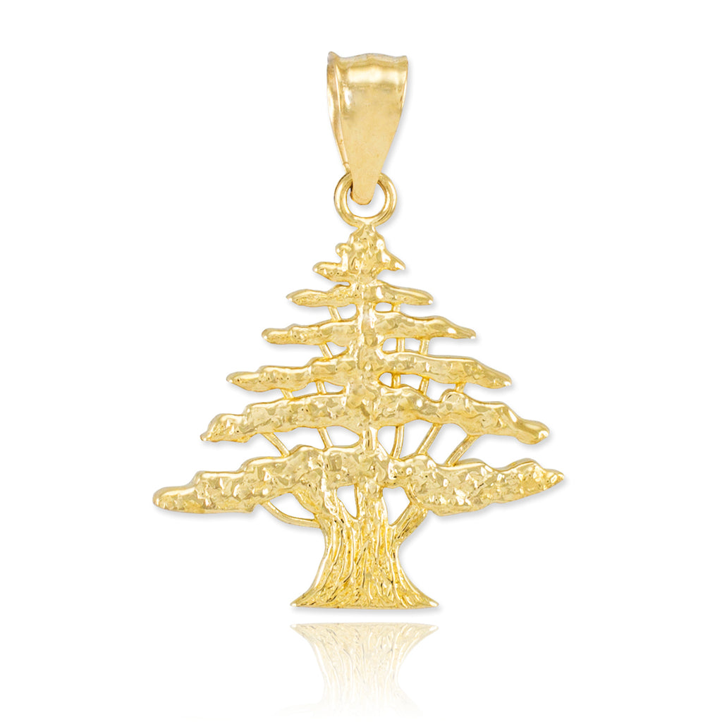 Gold Lebanese Cedar Tree - The961 Shop - Buy Lebanese