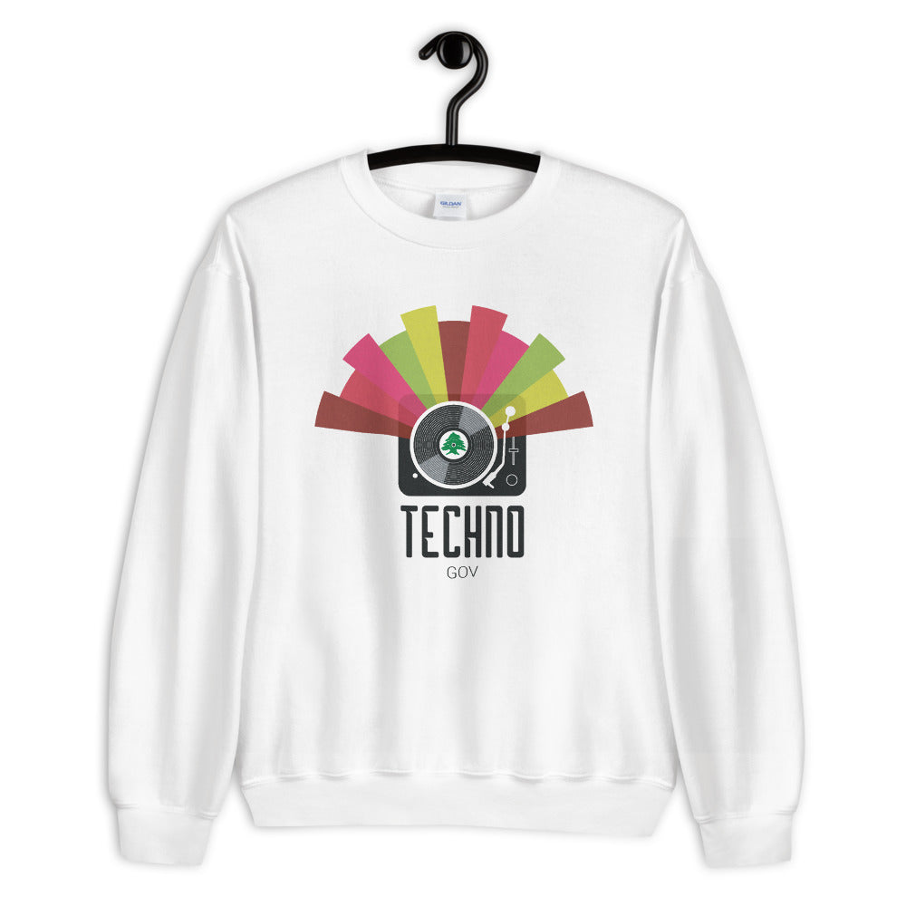 Techno Party Sweater - The961 Shop - Buy Lebanese
