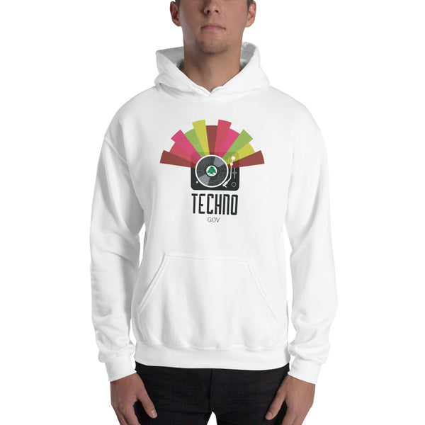 Techno Party Hoodie - The961 Shop - Buy Lebanese