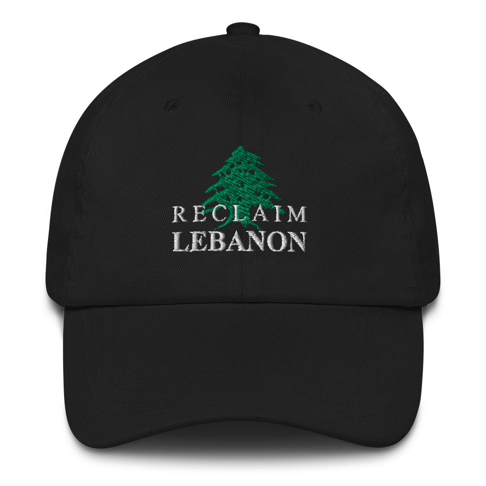 Reclaim Lebanon Hat - The961 Shop - Buy Lebanese