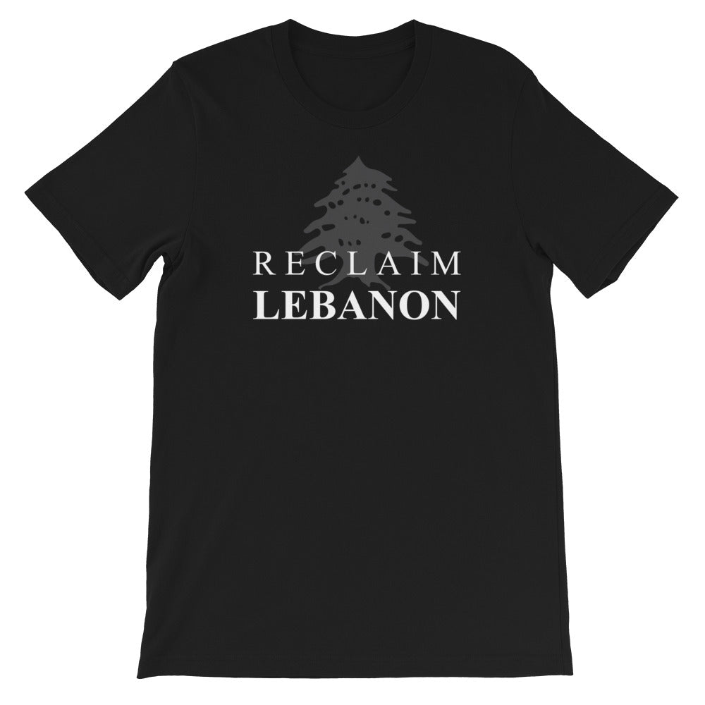 Reclaim Lebanon T-Shirt - The961 Shop - Buy Lebanese