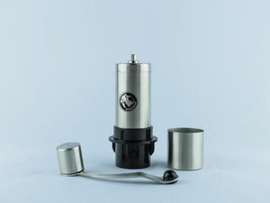 Rhino Coffee Gear Hand Grinder with Aeropress attachment