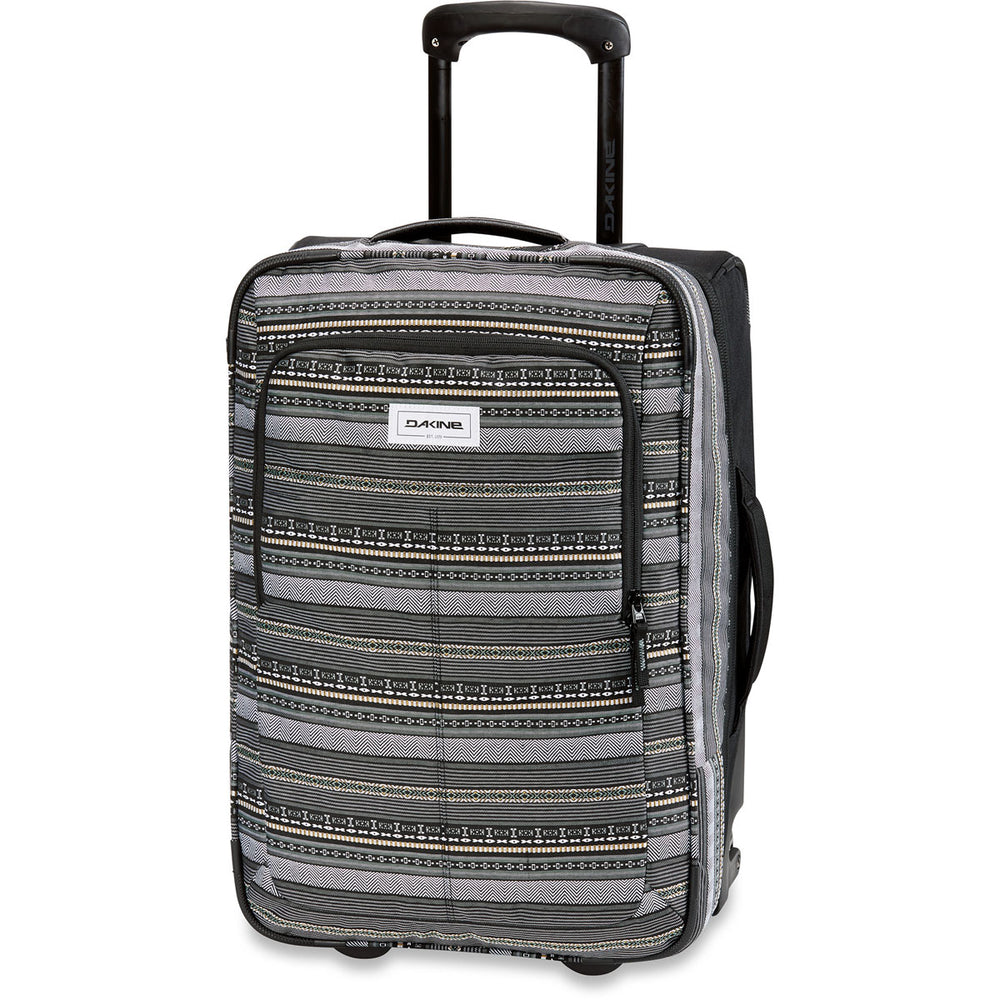 Travel Luggage Trolley with Wheels Travel Bag with Wheels and Carry on Luggage with Telescopic Handle and YKK Zipper Black Dakine Carry On Roller Hand Luggage Suitcase with Wheels