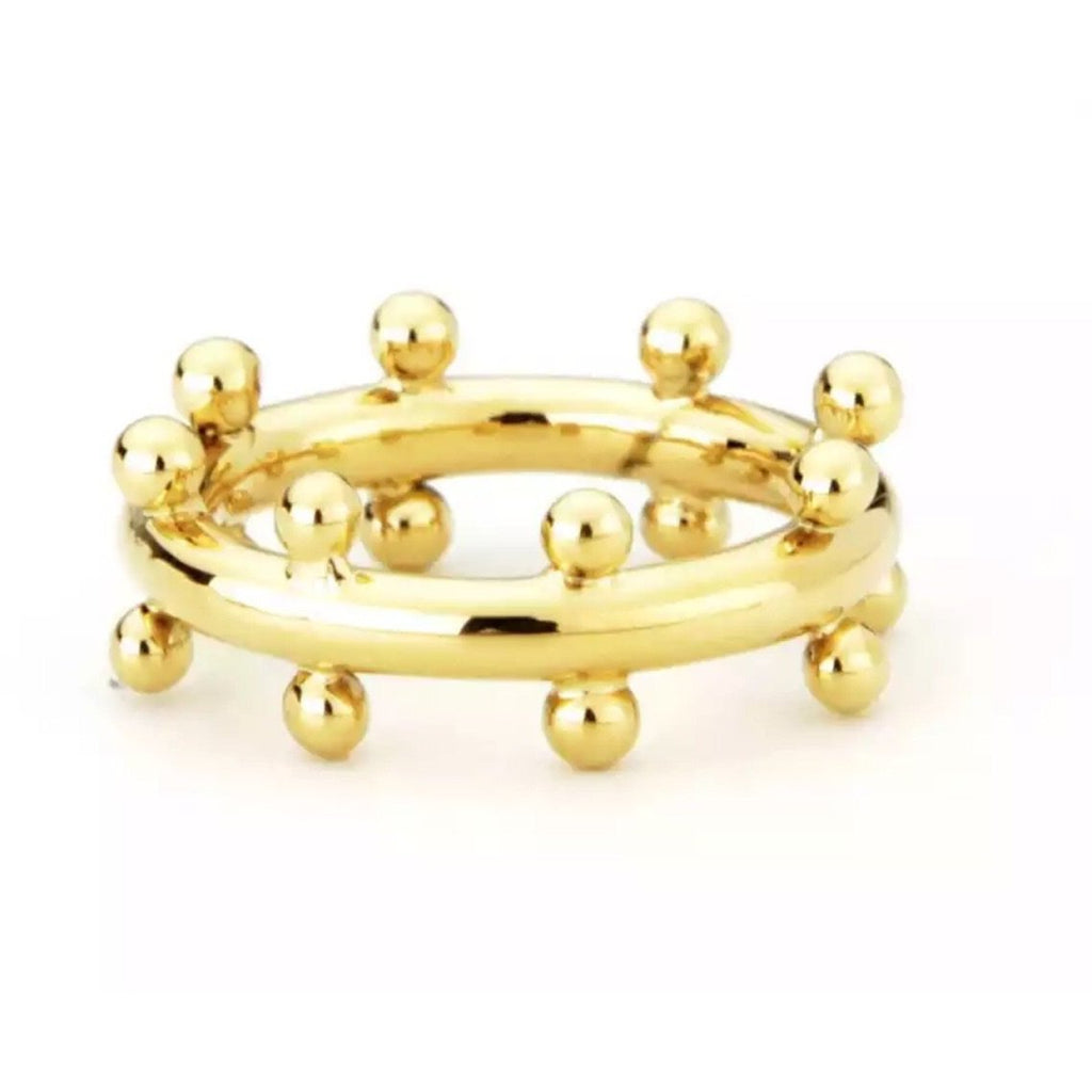 CINDY STUDDED RING