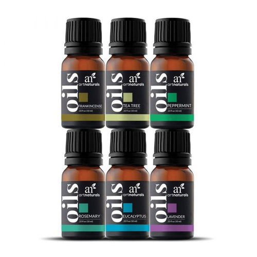 ArtNaturals Top 6 Essential Oils Set - Free Delivery