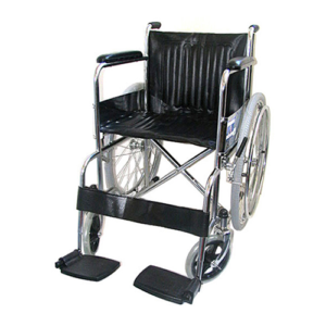 WHEEL CHAIR SOLID TYRE FOLDING