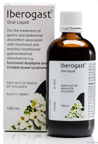 Iberogast 100ml x 2 Bottles IBS Herbal Liquid