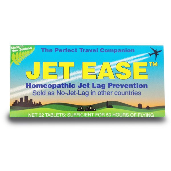 Jet Ease Jet Lag Prevention Homeopathic 32 Tablets