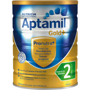 Aptamil Gold+ Stage 2 Follow On Formula 6-12 Months 900g