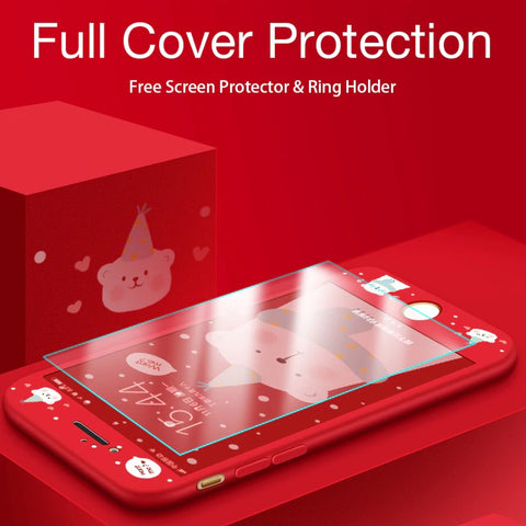 Full Body Protection Shockproof Cover Case for iPhone
