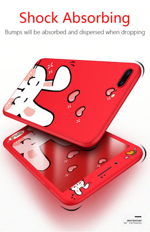 Silicone Shockproof Protective Case Cover for iPhone