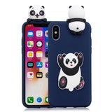 3D Adorable Soft Cover iPhone Case